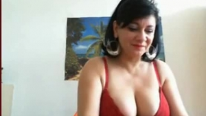 Shit hot milf showing her tits