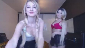 Two sexy lesbians are sharing a guy they like a lot and thoroughly enjoying it